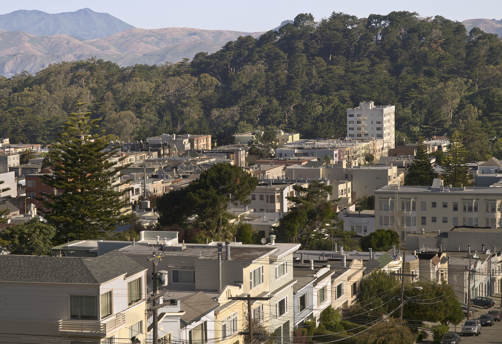 Golden Gate Park Hills