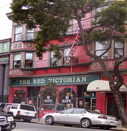 The Red Victorian Hotels Less Than 1 0 Mile From Golden Gate Park