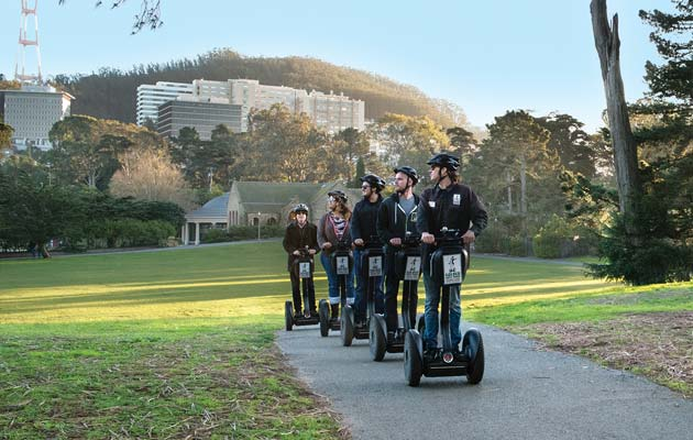 Segway Tours Golden Gate Park