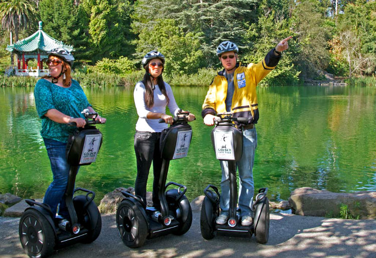 Golden Gate Park Segway Tours