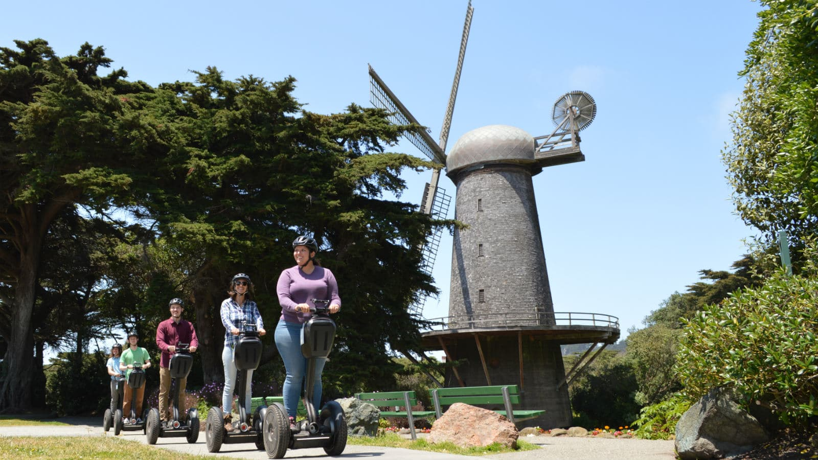 Golden Gate Park Segway Windmills