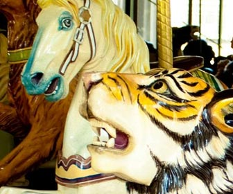 Golden Gate Park Carousel (Merry Go Around)