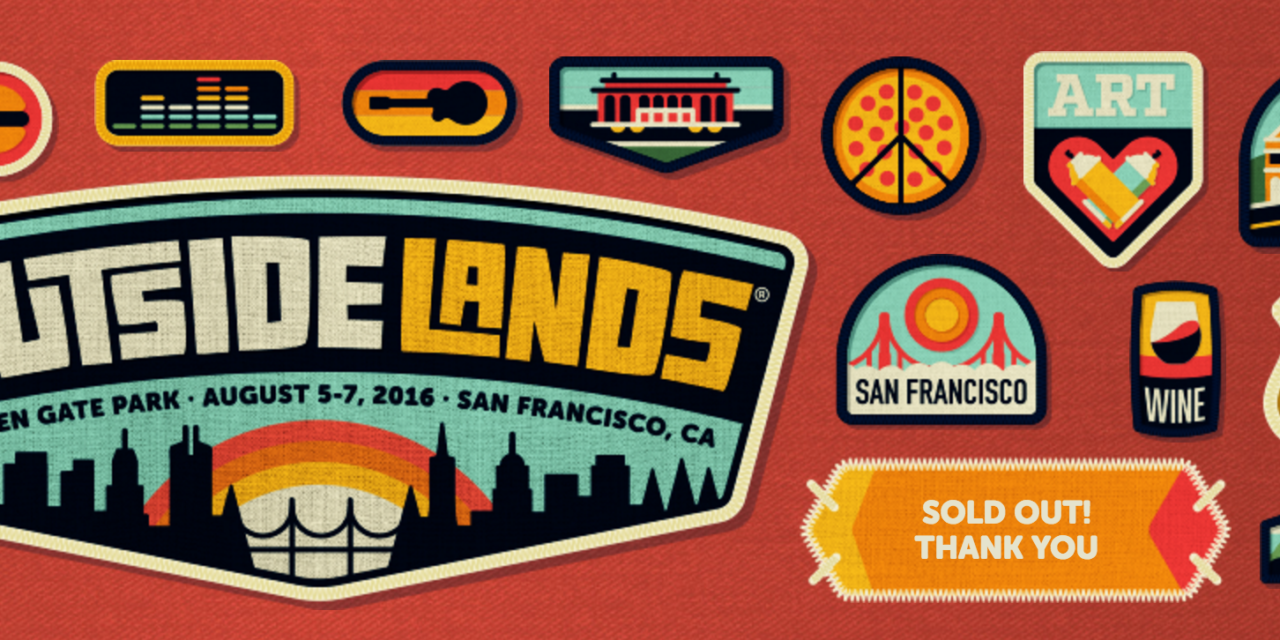 Outsidelands Fantastic 2016 Music Lineup in Golden Gate Park