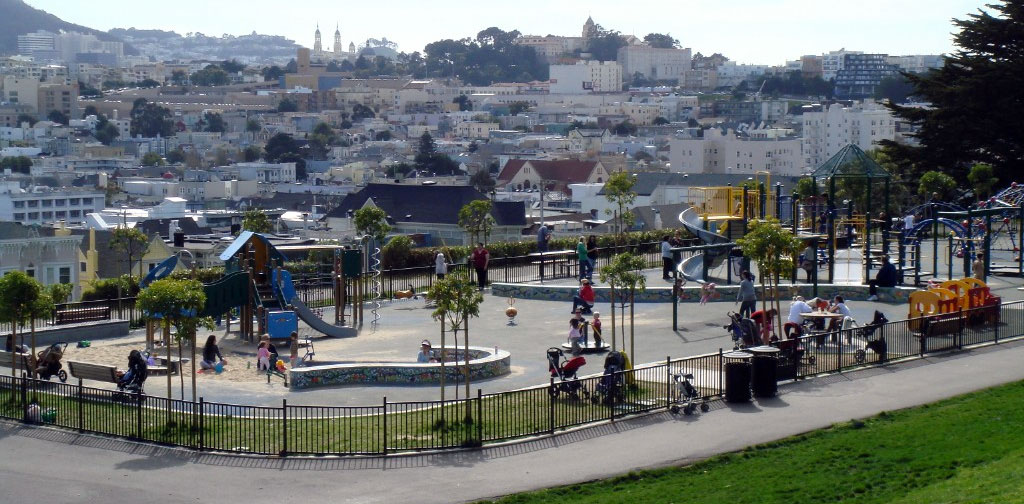 Alta Plaza Park – Fantastic 360 degree views of the city!