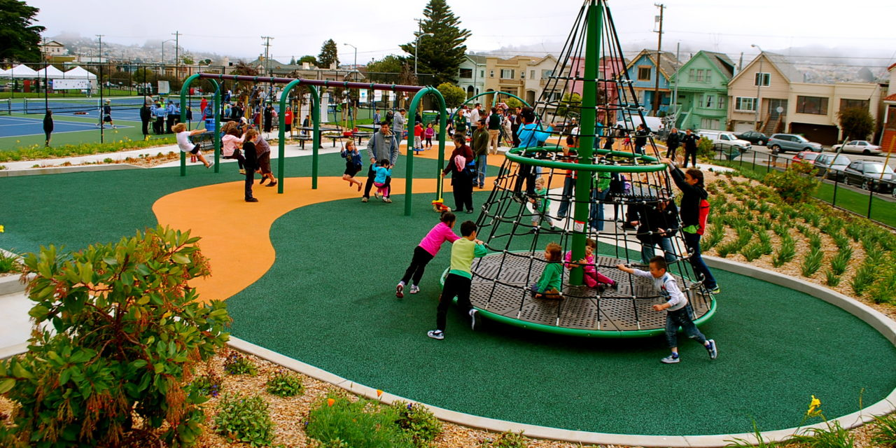 Balboa Park – Pool, Playground & Only Soccer-Specific Stadium