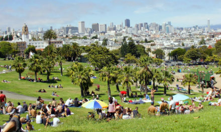 Dolores Park – Relaxation, Recreation & 10k People Strong