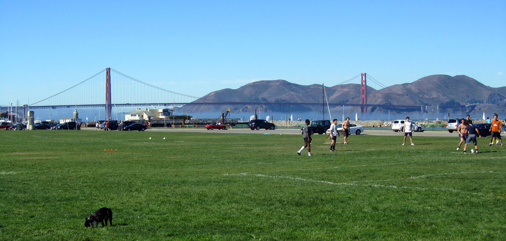 Marina Green Park – Sweeping Views of SF Bay & Golden Gate Bridge
