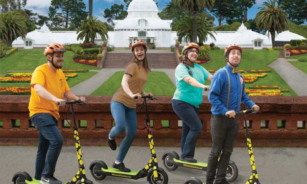 Electric Scooter Tours in Golden Gate Park